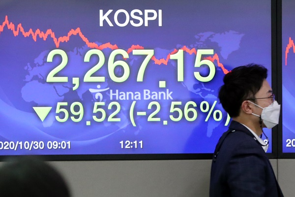 KOSPI Anjlok 2,56% pada 30 September, Investor Pribadi Lakukan Aksi Beli 1,4 Triliun Won