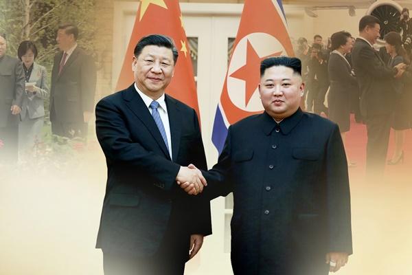 中朝友好条約締結60年 金委員長と習主席が親書交換