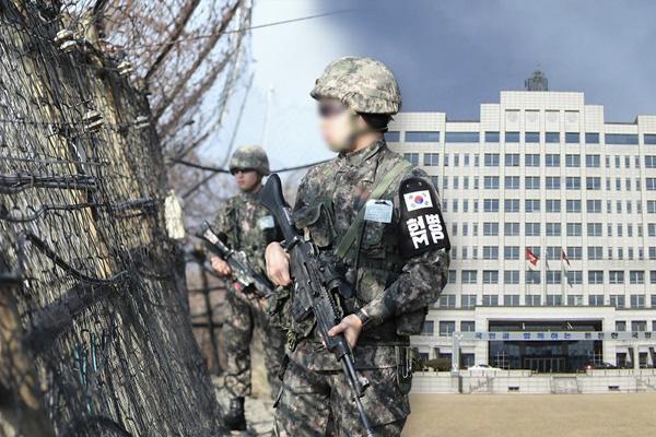 韩东部前线发现疑似来自北韩的人士