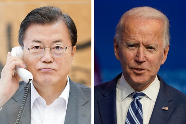 Pres. Office: S. Korea, US Agree to Soon Arrange Leaders' Phone Conversation
