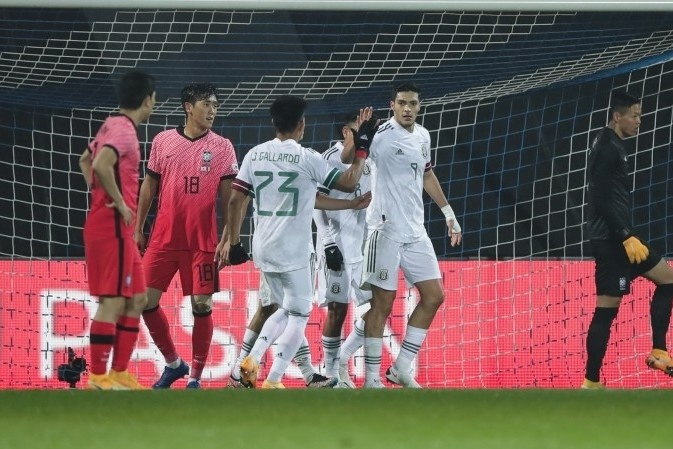 S. Korea Loses to Mexico in Football Friendly