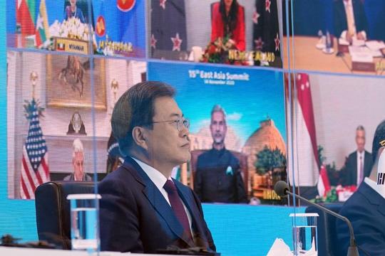 文在寅签署《区域全面经济伙伴关系协定》 全球最大自贸区诞生
