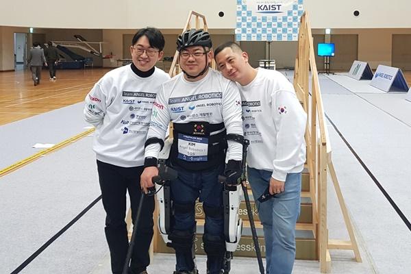 Robot mặc trên người do nhóm nghiên cứu Hàn Quốc phát triển vươn lên đứng đầu thế giới