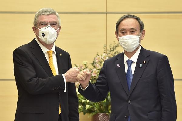 رئيس اللجنة الأولمبية يؤكد إقامة دورة طوكيو في موعدها