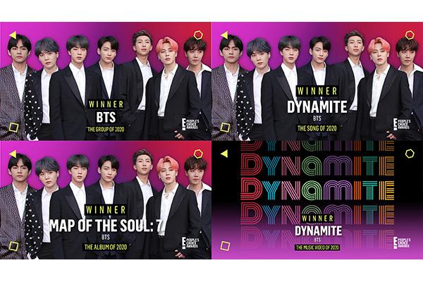 BTS gewinnen vier Preise bei People´s Choice Awards