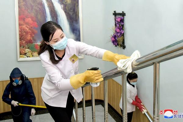 北韓で新型コロナの症状者、1週間で805人増加
