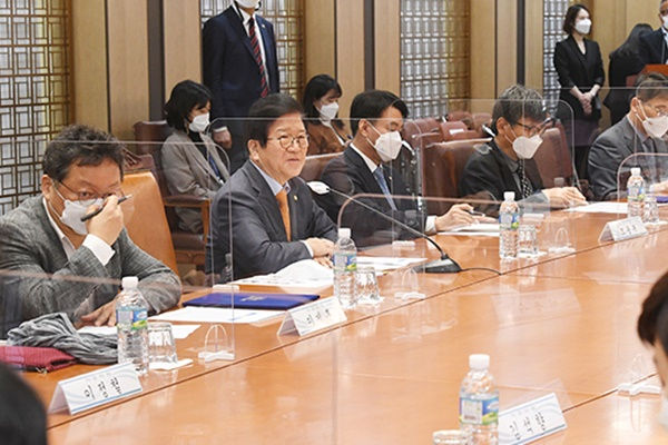 S. Korean Parliamentary Speaker Stresses Sustainable Inter-Korean Ties