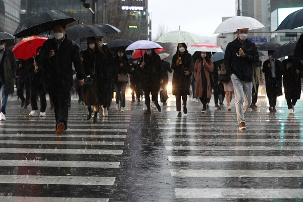 В Сеуле выпало рекордное суточное количество осадков