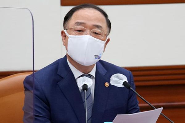 """홍남기 부총리 """"내수 회복 위한 특단 대책 고민 중"""""""