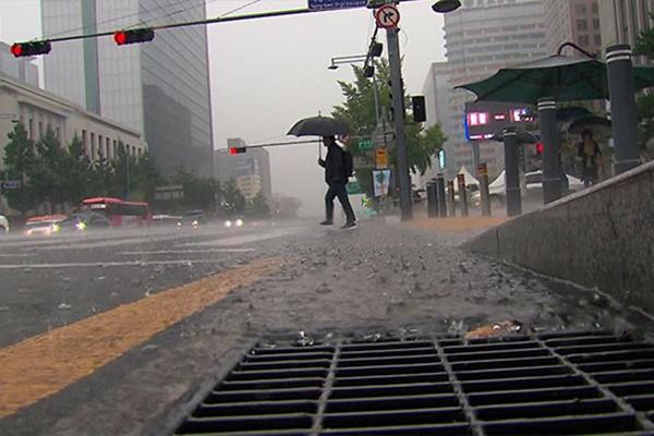 Peringatan Hujan Lebat Dikeluarkan di Seoul dan Provinsi Gyeonggido