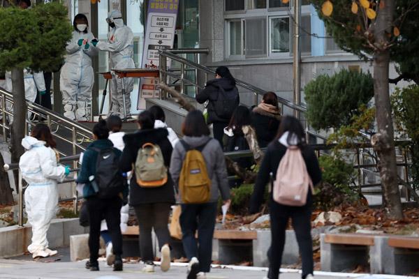 Teacher Recruitment Exams Take Place Nationwide Despite Cluster Outbreak