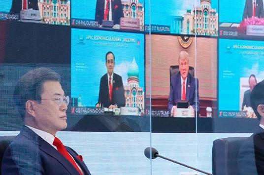 문 대통령, G20 정상회의서 '보건·경제' 위기 극복 국제연대 강조