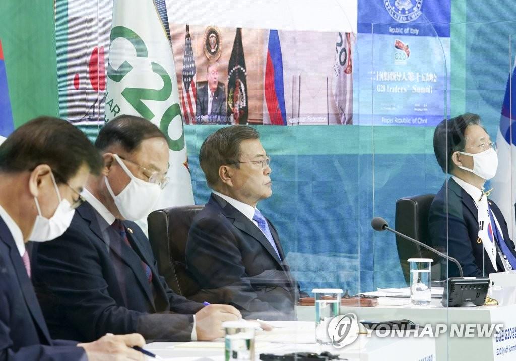Tổng thống Hàn Quốc nhấn mạnh về việc phân bổ công bằng vắc-xin, thuốc điều trị COVID-19 tại Hội nghị G20