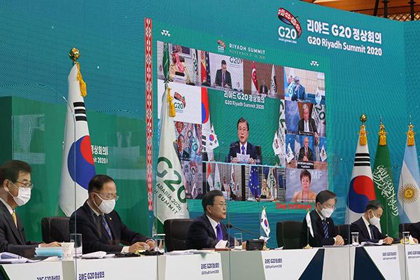 Лидеры Большой двадцатки обязались  поддержать восстановление глобальной экономики