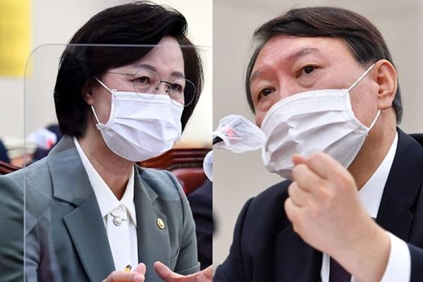 韩朝野围绕法务部长官和检察总长冲突激烈争论