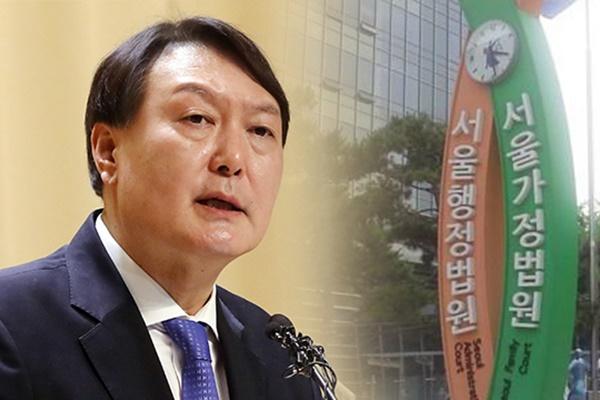 윤석열 직무집행 정지 처분 취소소송 제기…징계사유 없다