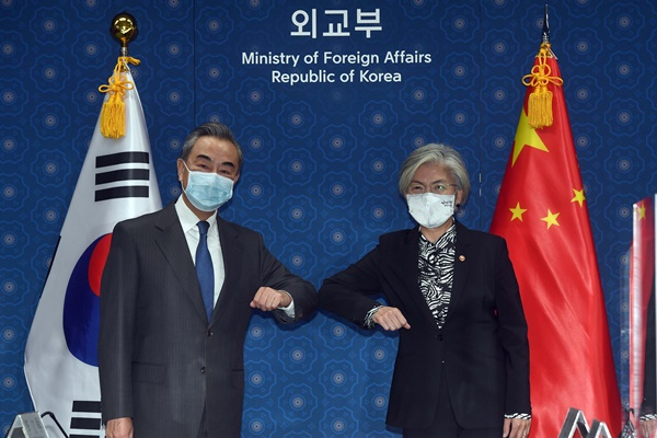 Foreign Ministers of S. Korea, China Hold Talks in Seoul