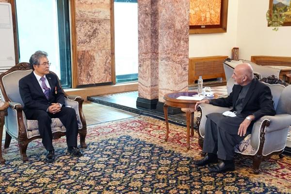 이자형 주아프간 대사, 현지 세번째 권위 국가훈장 받아