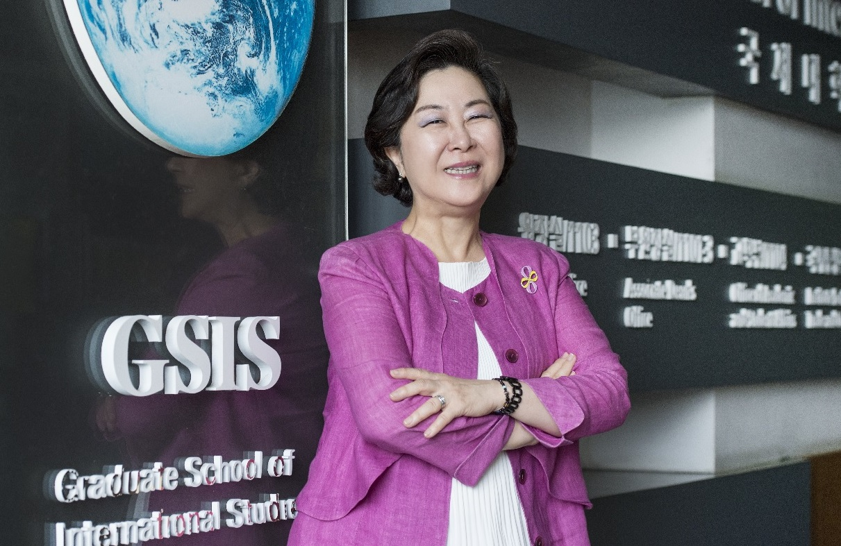 Prof. Kim Eun-mee Elected Ewha Womans University President