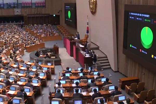 韩国会通过558万亿韩元规模明年度预算案 国会世宗议事堂预算达147亿韩元
