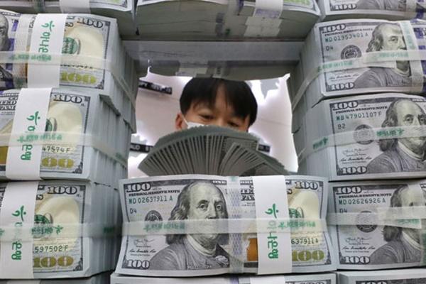 Réserves de change : la plus forte hausse en dix ans