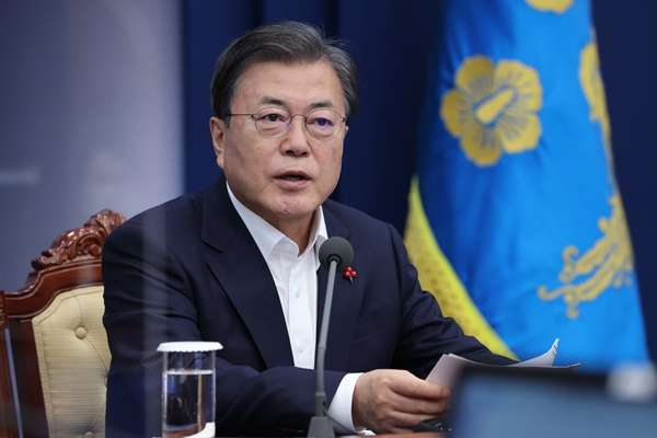 Moon Renews Will to Serve Public after Cabinet Reshuffle