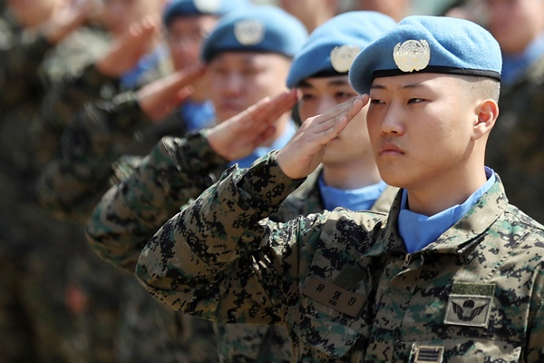 كوريا ترسل البعثة الخامسة والعشرين من وحدة دونغ ميونغ العسكرية إلى البنان