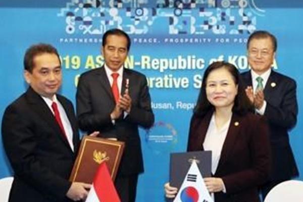4 Bộ trưởng Indonesia thăm Hàn Quốc ký kết Hiệp định đối tác kinh tế toàn diện song phương