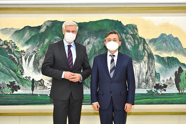 KBS und Deutsche Botschaft Seoul wollen Zusammenarbeit ausbauen