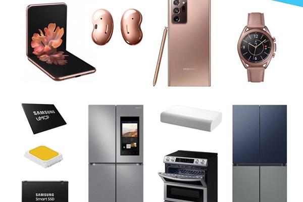 Samsung càn quét 173 giải thưởng tại Triển lãm hàng điện tử tiêu dùng 2021