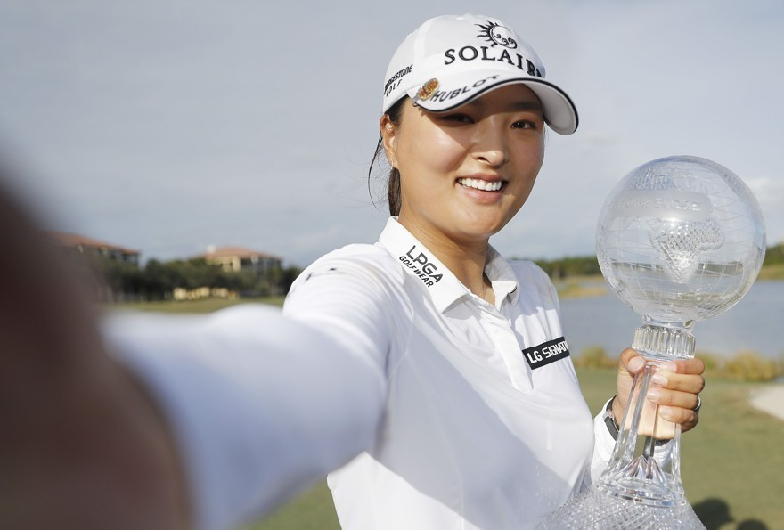 Ko Jin-young Wins LPGA Season Finale, Claims Money Title for 2nd Year