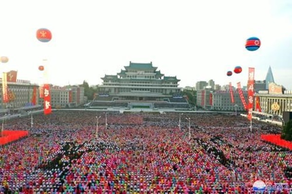 38 North: В КНДР идут репетиции военного парада