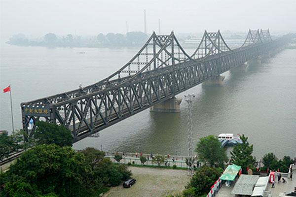 L'inauguration du nouveau pont du fleuve Yalu pourrait être imminente