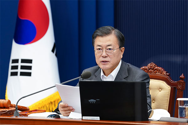 Pres. Moon: Public Trust in Vaccine Process Most Important