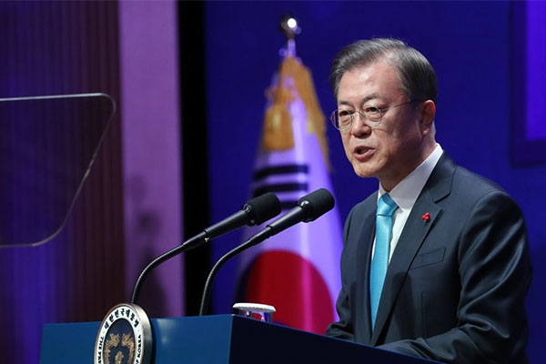 Presiden Moon Gelar Silaturahmi Tahun Baru di Cheongwadae