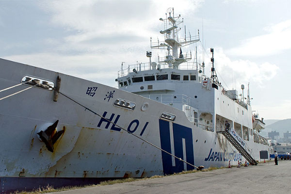 Căng thẳng giữa tàu Cảnh sát biển Hàn Quốc và tàu đo đạc của Nhật Bản trên vùng biển phía Đông Nam đảo Jeju