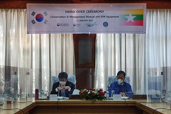 Hàn Quốc chia sẻ kinh nghiệm quản lý, bảo tồn bích họa cho Myanmar