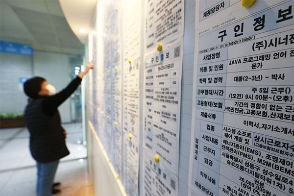 去年の就業者数 前年比で22万人減少 アジア通貨危機以来最大に