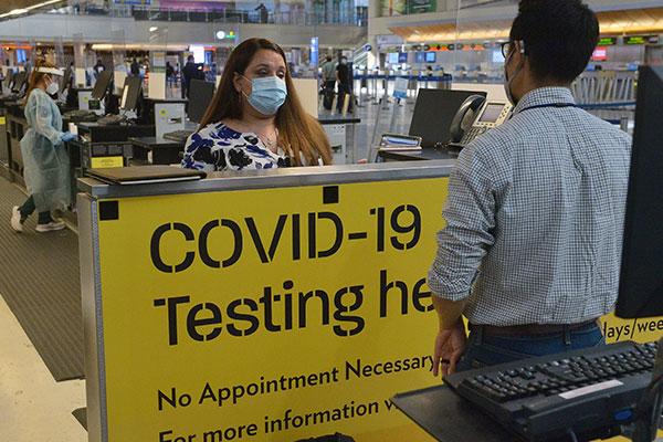 AS Wajibkan Hasil Tes Negatif COVID-19 untuk Seluruh Pendatang dari Luar Negeri