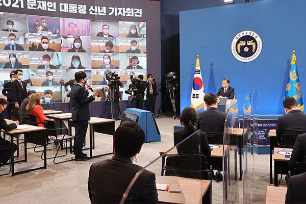 Präsident Moon äußert Hoffnung auf baldigen Südkorea-Besuch von Chinas Präsident Xi
