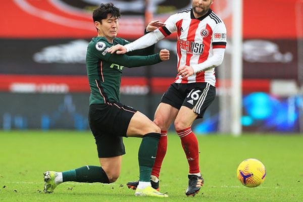 孙兴慜成首位英超进攻得分达100分的亚洲球员