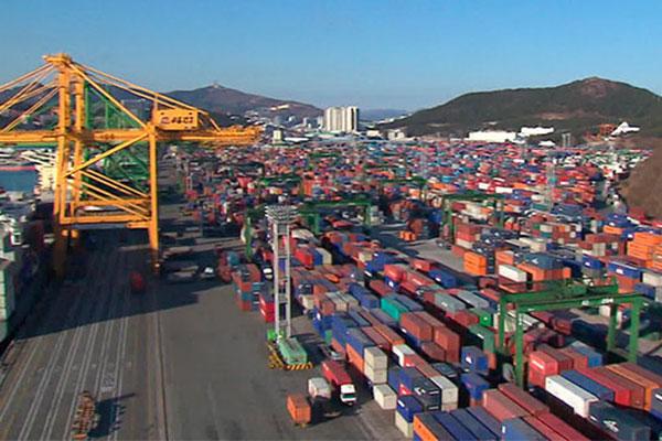 Japans Anteil an Südkoreas Gesamtausfuhren fällt wieder unter fünf Prozent