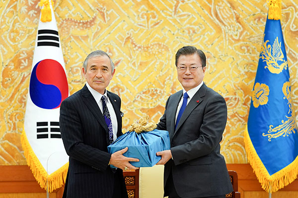 Tổng thống Moon Jae-in đánh giá cao nỗ lực của Đại sứ Mỹ tại Hàn Quốc