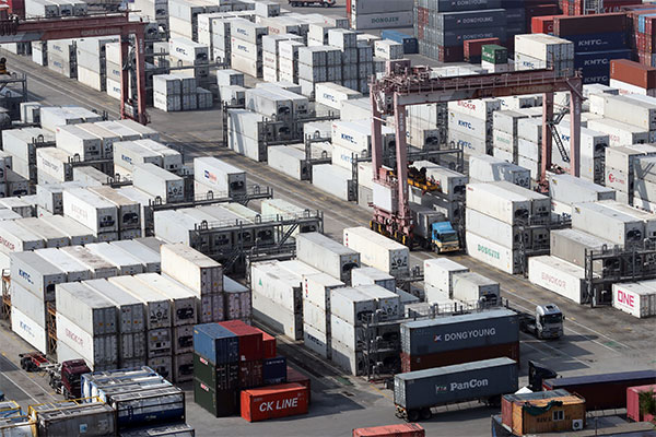 S. Korea's Exports Rise 10.6% in First 20 Days of January