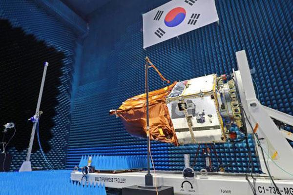 إطلاق قمر مراقبة كوري  في مارس القادم من كازاخستان