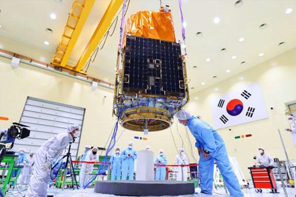 Южнокорейский разведывательный спутник будет запущен с космодрома Байконур