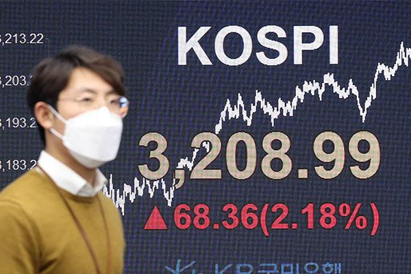 総合株価指数の終値が最高値更新 初めて3200超える