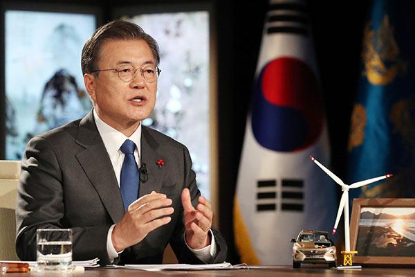 Präsident Moon mahnt Solidarität und Kooperation bei Impfstoff-Versorgung an