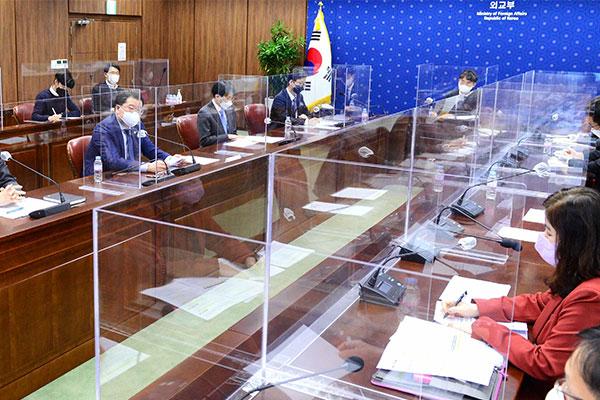雅诗-韩外交部成立对美政策沟通小组 与拜登政府强化合作