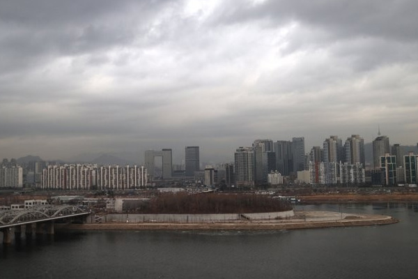 Fine Dust Hits S. Korea Sunday